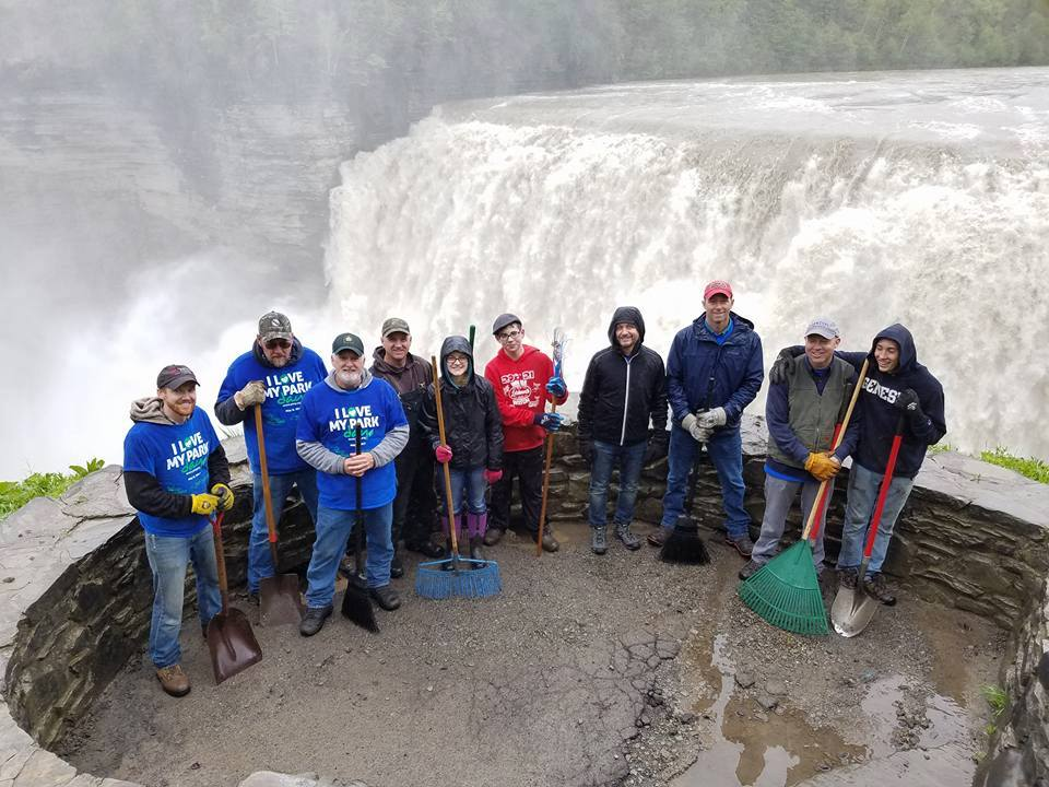 Middle Falls Crew