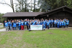 Group Photo at Trailside Lodge